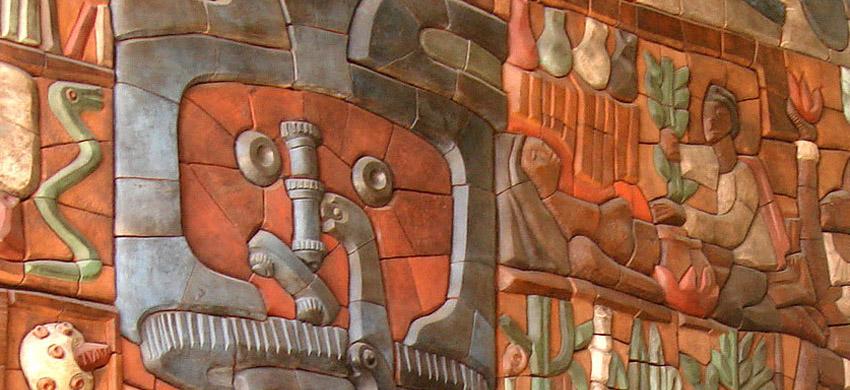 Mural de la ucn postulado para integrar patrimonio for Mural metro u de chile