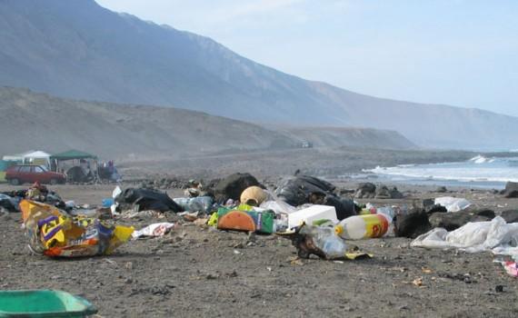 """""""A cada paso dado en la playa, uno puede encontrarse con al menos 2 unidades de basura"""""""