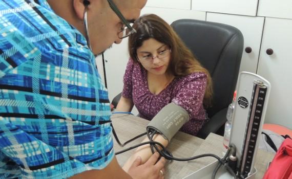 Centro de Salud Estudiantil realizó campaña de control de presión arterial