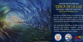 Afiche exposición Pinturasw