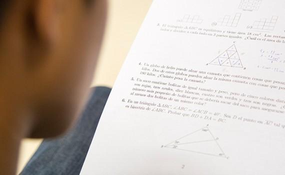 Más de 300 alumnos participaron en XXIII Olimpiada Comunal de Matemática