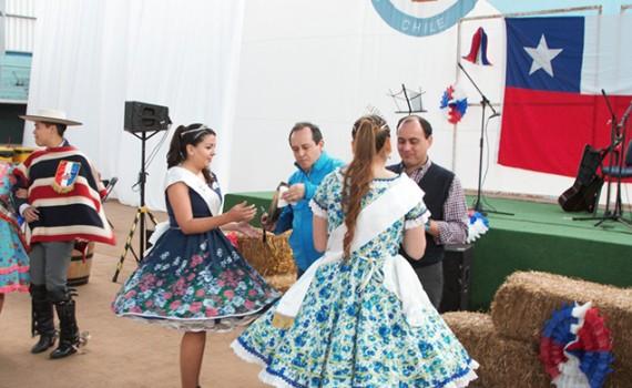 Casa Central celebró las Fiestas Patrias