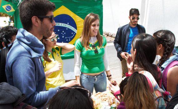 Gastronomía y cultura en Feria Internacional de Movilidad Estudiantil