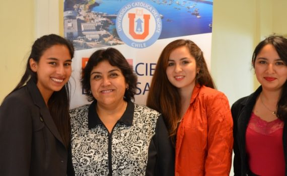 Jóvenes UCN presentan estudios realizados a emprendedores de la zona