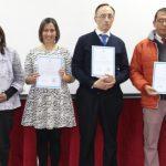 Equipo directivo y docentes del Liceo Industrial reciben reconocimiento PACE UCN
