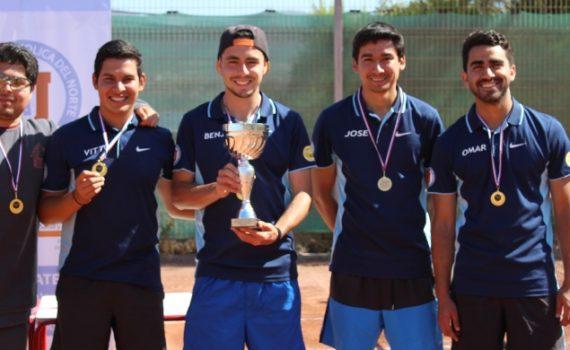 Equipo de Tenis UCN vence a la Universidad de La Serena