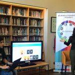 Estudiantes nortinos desarrollan plataforma de audiolibros para personas con discapacidad visual