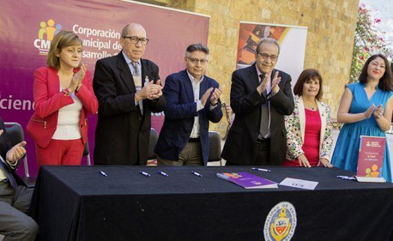 Firman protocolo de acuerdo para Expo-Ciencias Latinoamericana ESI AMLAT 2018