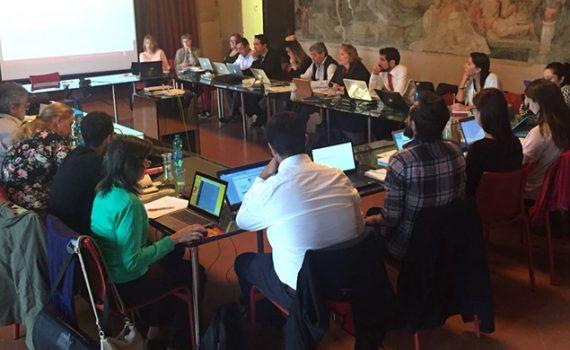 Activa participación de la UCN en reunión de Proyecto Caminos en Italia