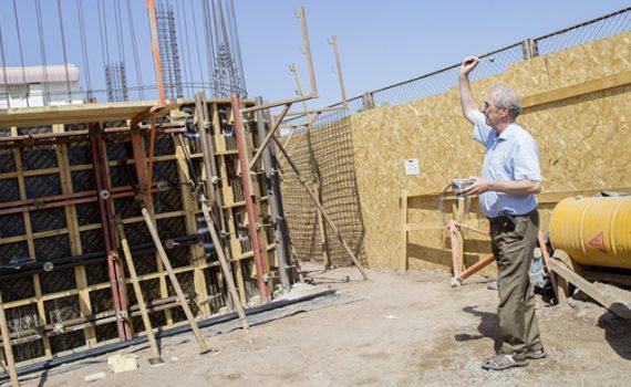 Bendicen obras de construcción de nuevo edificio de la FACEA en la UCN