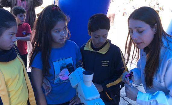 Escolares y comunidad de Taltal conocen avances en biotecnología con apoyo de la UCN