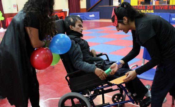 Estudiantes de Kinesiología aprenden desde la inclusión