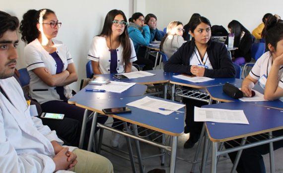 Con metodología A+S, estudiantes promueven la buena salud en escolares