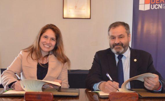 UCN firma importante convenio de colaboración con la Seremía de Justicia