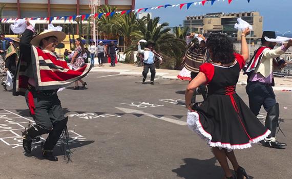 Alegre jornada marcó la celebración de Fiestas Patrias en la Casa Central de la UCN