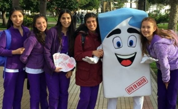 Nutrición y Dietética implementa exitoso equipo de promoción en salud