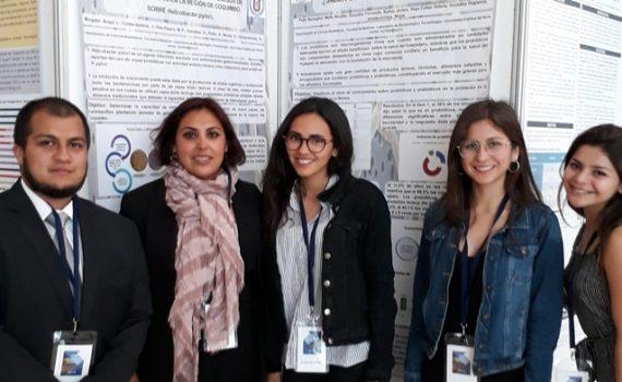 Estudiantes participaron en XXXV Congreso Chileno de Infectología