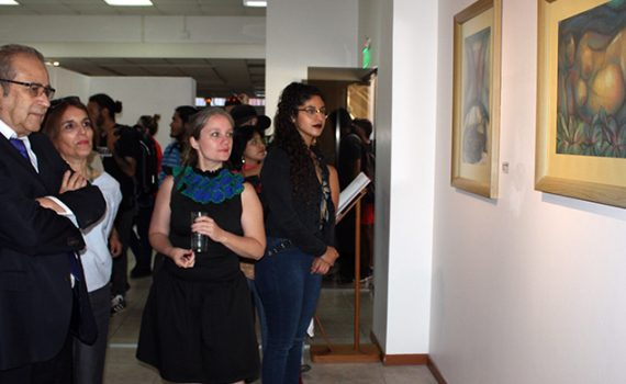 Colección de obras del maestro Osvaldo Silva Castellón presenta la UCN en Salón Chela Lira