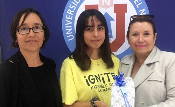Alumna que obtuvo puntaje nacional en la PSU estudiará Medicina en la UCN