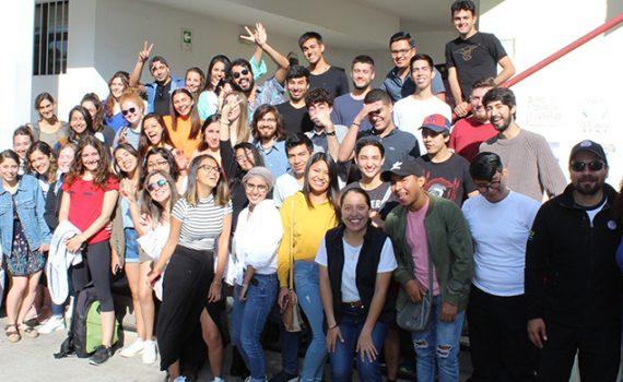 UCN dio la bienvenida a 46 estudiantes extranjeros en Antofagasta