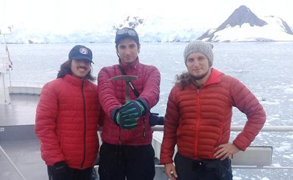 Estudiante de Geología UCN participó en expedición a la Antártica