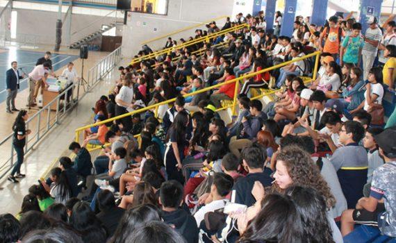 400 estudiantes inician año académico del DeLTA UCN