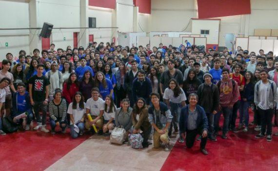 Escuela de Ingeniería UCN recibe a sus mechones en Coquimbo