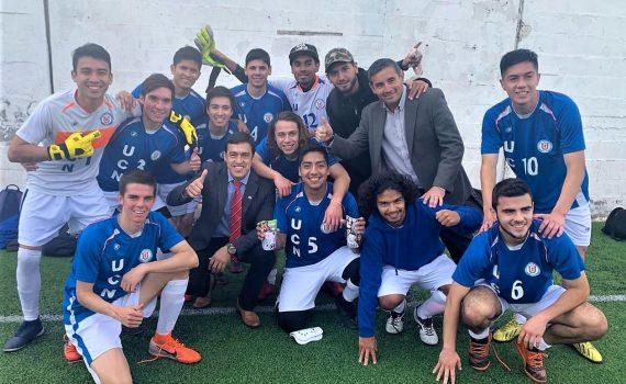 UCN se corona campeón invicto en Copa Futsal 2019