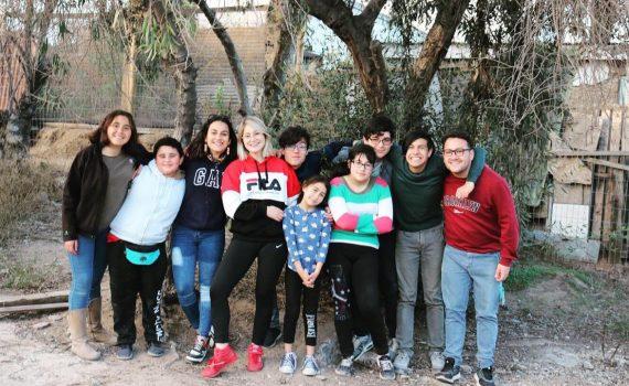"""Jóvenes y niños de la agrupación """"Guayacán te mueve"""" desarrollan variado panorama en vacaciones de invierno"""