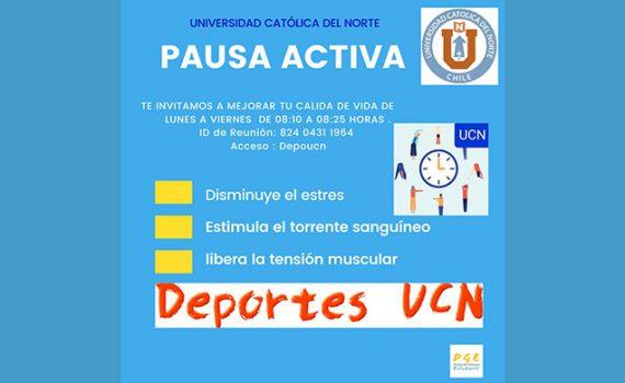 UCN invita a realizar actividades deportivas online