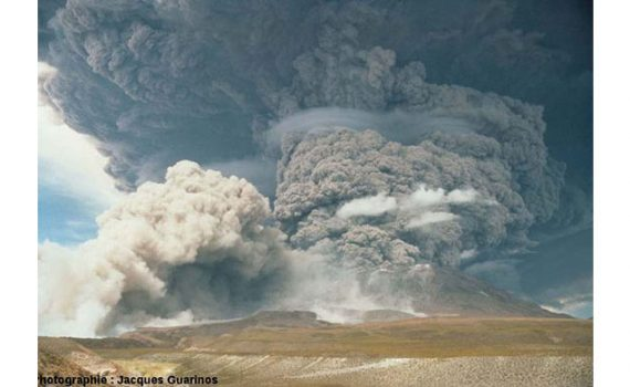 Geólogo del programa Ckelar-UCN recomienda medidas a 28 años de la gran erupción del volcán Láscar