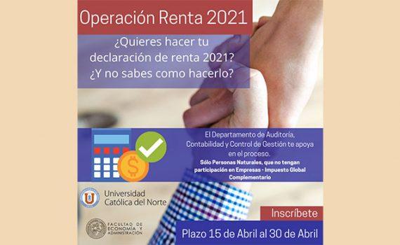 Académicos UCN entregan asesoría online en Operación Renta