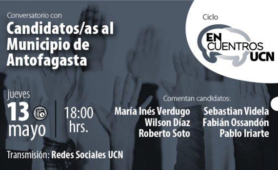 """Candidatos y candidatas a la alcaldía de Antofagasta debaten en  """"Encuentros UCN"""""""