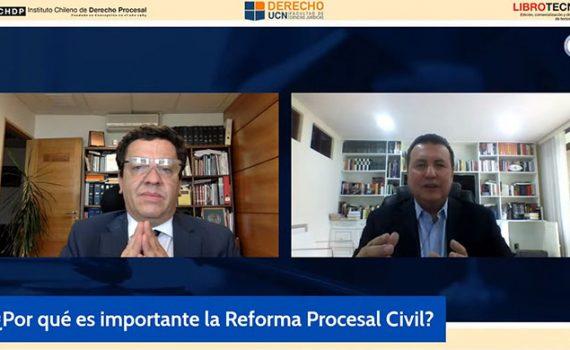 Profesor del Tecnológico de Monterrey en primera jornada de ciclo de entrevistas sobre la reforma procesal civil