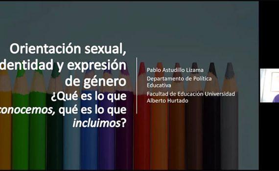 OIJ realizó seminario sobre enfoque de género y diversidad sexual