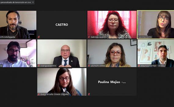 Docentes participan de encuentro de orientación vocacional dirigido por la UCN