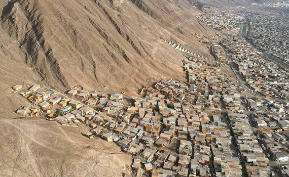 Imágenes aéreas UCN-CIGIDEN detectan viviendas en vías aluvionales en Antofagasta