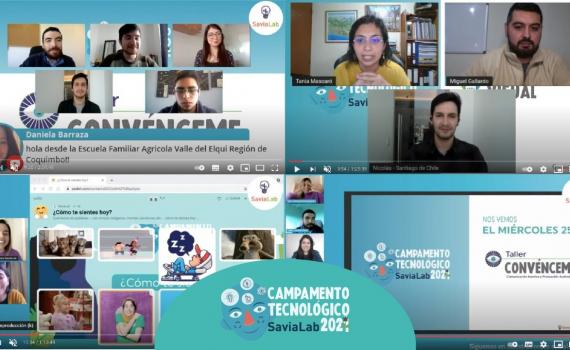 Estudiantes de la Región de Coquimbo participan en Campamento Tecnológico SaviaLab 2021